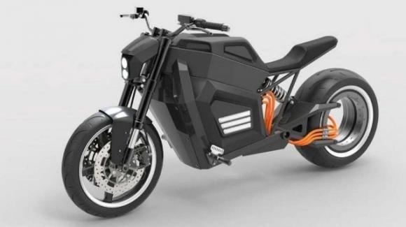 RMK E2: la moto elettrica con il motore nella ruota posteriore