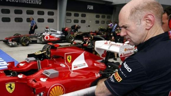 Adrian Newey poteva arrivare in Ferrari, ma rinunciò per via di Schumacher