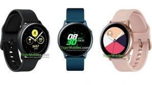 Galaxy Watch Active: ecco come potrebbe essere il nuovo smartwatch sportivo di Samsung