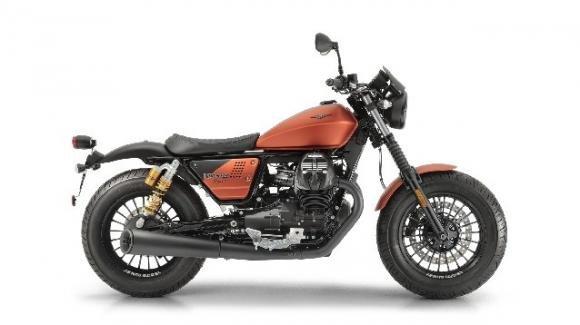 Moto Guzzi V9 Bobber Sport: la nuova custom della casa di Mandello del Lario