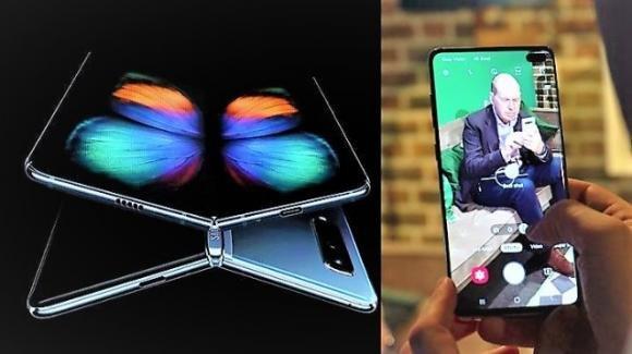 Galaxy Fold: da Samsung lo smartphone pieghevole che diventa un tablet