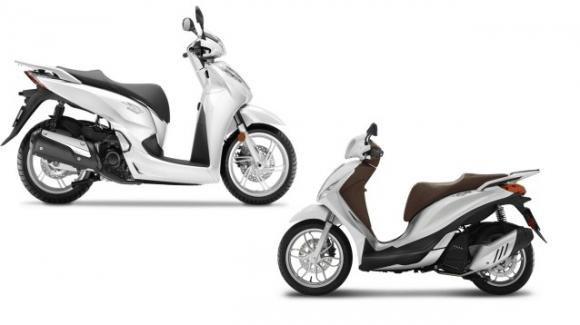 Sh e Medley 125: pregi e difetti degli scooter Honda e Piaggio