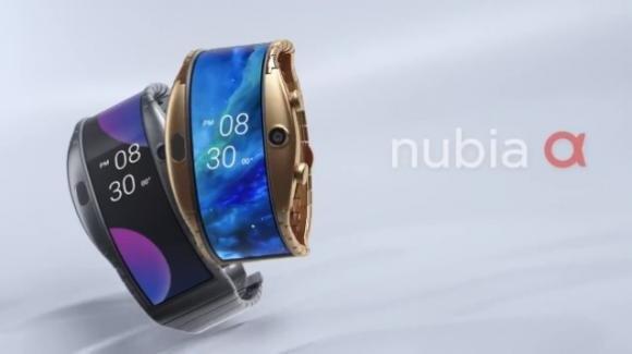 Nubia Alpha: dal MWC 2019 lo smartwatch con display flessibile e avanzate funzioni telefoniche