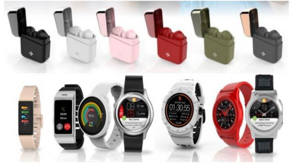 MWC 2019: MyKronoz presenta i suoi primi auricolari true wireless, e vari smartwatch, fitness tracker, e sportwatch