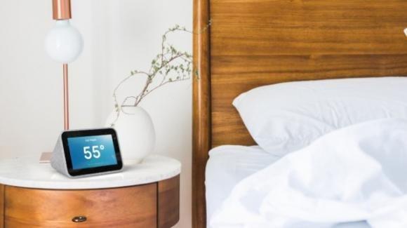 MWC 2019: da Lenovo la sveglia digitale Smart Clock con Google Assistant
