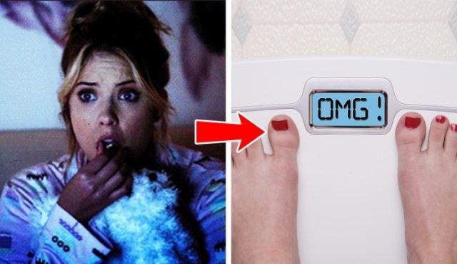 guardare i film dell orrore perdere peso
