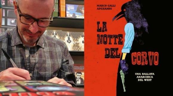 """""""La notte del corvo"""", il graphic novel che racconta la paura dei migranti"""