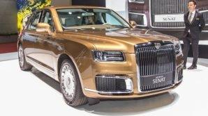 Autosalone di Ginevra 2019: la russa Aurus presenta la limousine Aurus Senat L700 e la berlina Aurus Senat S600