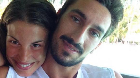"""Davide Astori, la compagna Francesca racconta il dramma dopo la sua morte: """"Mi hanno bloccato le carte di credito"""""""