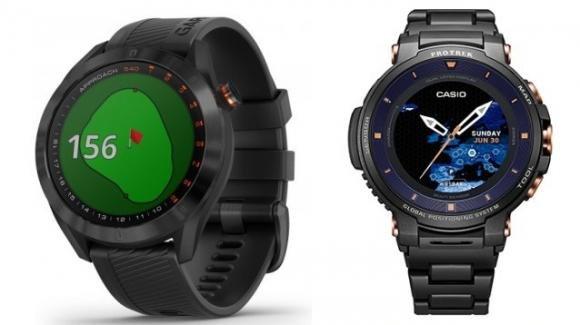 Baselworld 2019: Garmin svela un suo smartwatch per il Golf, e Casio un cronografo smart in edizione limitata