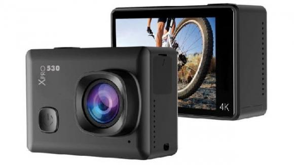 SportCam Xpro 530: l'action camera con streaming Wi-Fi per riprese grandangolari in 4K