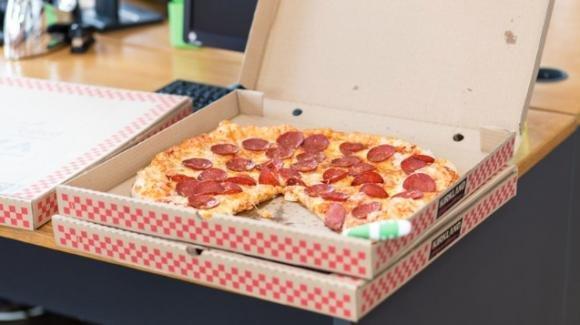 Tracce elevate di Bisfenolo A nei cartoni per la pizza