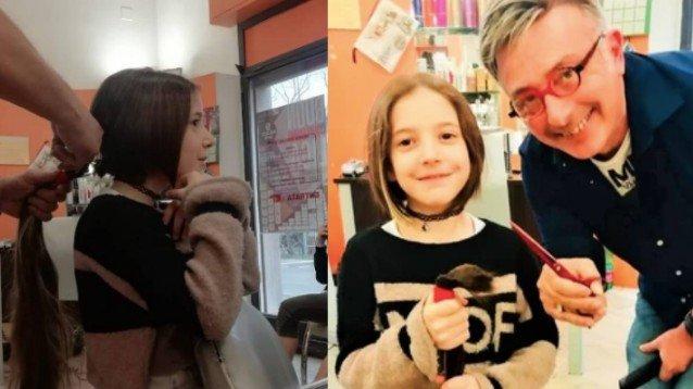Bologna: bambina di 8 anni decide di donare i suoi capelli ...