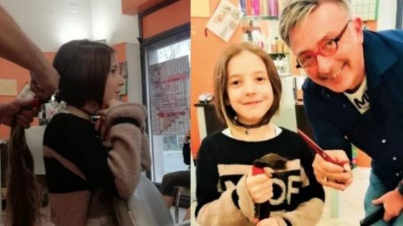 Bologna: bambina di 8 anni decide di donare i suoi capelli alle donne malate di cancro