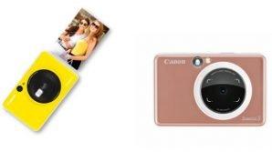 Canon Zoemini C e Zoemini S: ecco le nuove instant camera tascabili con tecnologia Zink