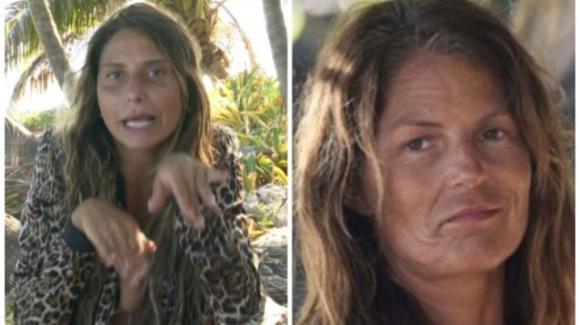 """L'Isola dei Famosi, Marina La Rosa punta il dito contro Sarah Altobello e rivela: """"Un po' di fastidio l'hai dato!"""""""