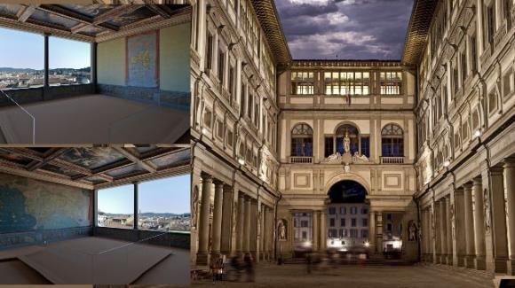 Gli Uffizi di Firenze riaprono al pubblico una sala chiusa da 20 anni