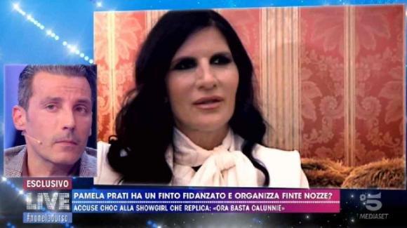 """Live – Non è la D'Urso, Pamela Prati: """"Il matrimonio con Mark Caltagirone è vero"""""""