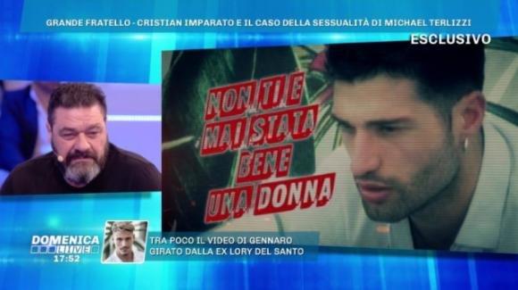 """Domenica Live, Franco Terlizzi sul figlio Michael: """"Non è gay"""""""
