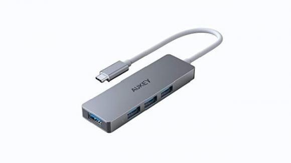 Aukey CB-C62: la multipresa USB dalle dimensioni compatte