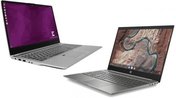 Entroware ed HP: ecco le proposte per i notebook da lavoro con Linux e ChromeOS