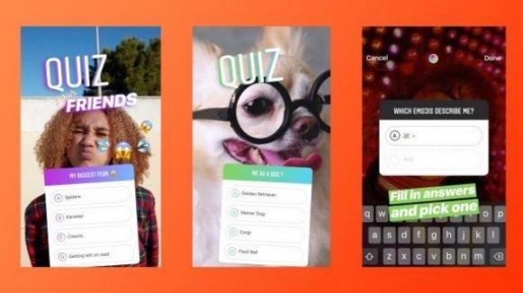 Instagram: in chiaro le password di milioni di iscritti, annunciati gli stickers con quiz a risposta multipla