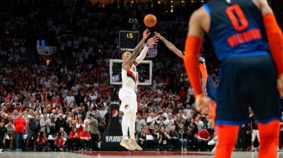 """NBA Playoffs 2019: Lillard impone il """"Dame Time"""", i Blazers avanzano con la tripla allo scadere"""