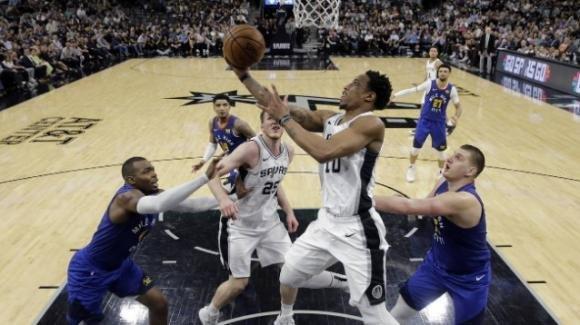 NBA Playoffs 2019, 25 aprile 2019: gli Spurs battono i Nuggets e vanno a gara 7
