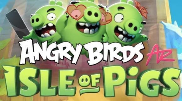 """""""Angry Birds AR: Isle of Pigs"""": è in esclusiva su iOS il nuovo videogame dedicato agli uccellacci arrabbiati"""