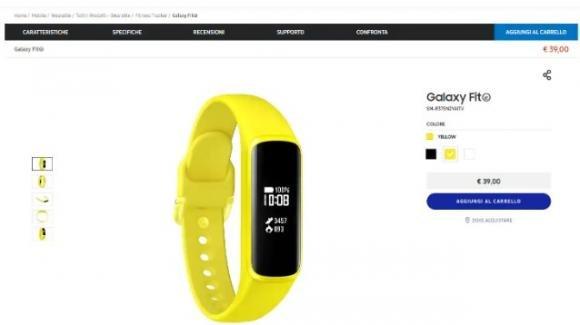 Galaxy Fit-e (in attesa del fratello maggiore Galaxy Fit) è già acquistabile in Italia