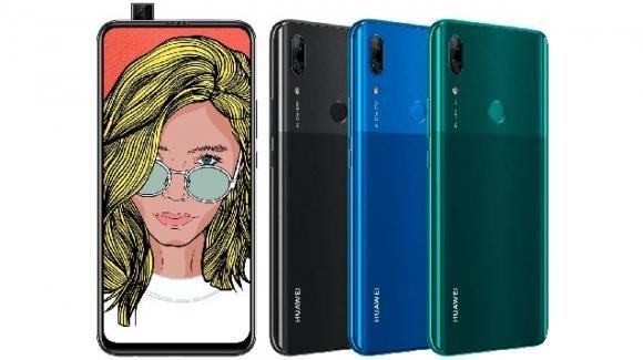Huawei P Smart Z: ufficiale (grazie ad Amazon) il nuovo elegante medio-gamma con selfiecamera a scomparsa