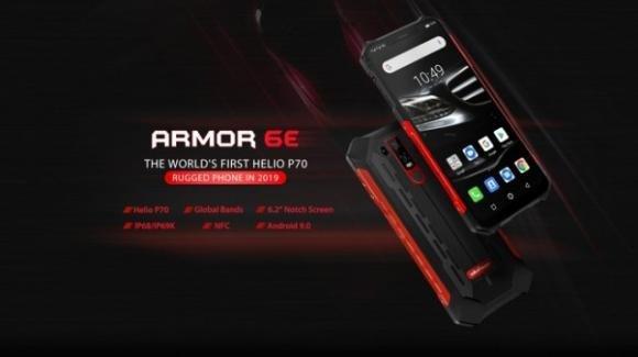 Ulefone Armor 6E: smartphone corazzato, migliorato nelle performance