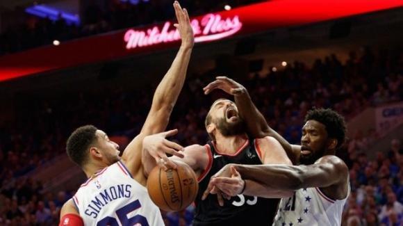 NBA Playoffs 2019, 2 maggio 2019: i 76ers dilagano sui Raptors, Philadelphia in testa nella serie