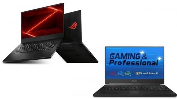 AsusZephyrus G GA02 e Gigabyte Aero 15 Classic: nuovi ultrabook per il gaming, con le ultime novità di AMD e Intel