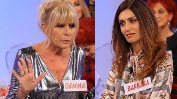 """U&D, Barbara De Santi punge sul vivo Gemma Galgani: """"Si consoli, io non sono mai andata al Maurizio Costanzo Show!"""""""