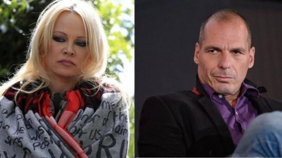 Alle elezioni europee, Pamela Anderson sosterrà Yanis Varoufakis