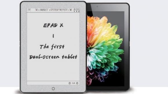 Eewrite Epad X: ecco il primo tablet con doppio display che fa da ebook reader