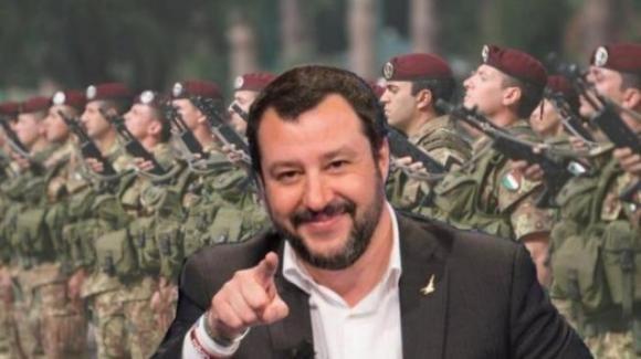 """Salvini e la conferma sulla reintroduzione della leva militare: """"splendida esperienza per imparare il rispetto"""""""