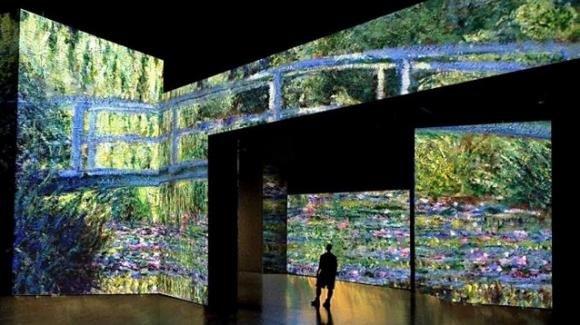 La mostra multimediale di Claude Monet a Torino