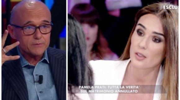 """Pamela Prati a Verissimo, Alfonso Signorini elogia la Toffanin: """"Silvia ha preteso di sapere la verità"""""""