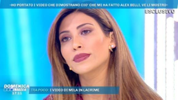 "Domenica Live, Mila Suarez parla della querela su Francesca De André: ""Ci sto pensando"""