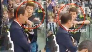 Juventus, Allegri si rifiuta di firmare l'autografo a un bambino