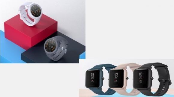 Ufficiali i nuovi ed iperautonomi sportwatch Amazfit Verge Lite ed Amazfit Bip Lite