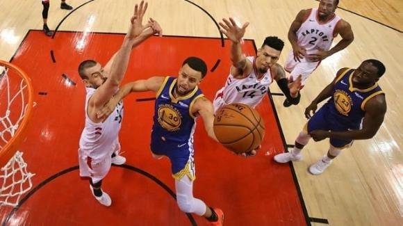 NBA The Finals, 2 giugno 2019: i Warriors irrompono a Toronto e pareggiano i conti