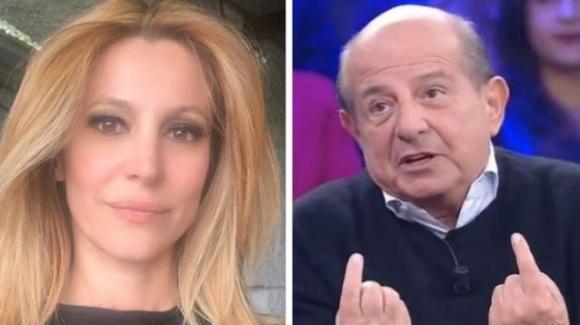 """Adriana Volpe sull'ennesima provocazione di Giancarlo Magalli: """"Adesso dico basta!"""""""