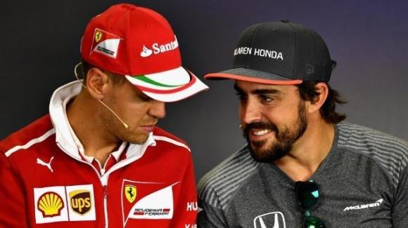 Fernando Alonso: la Ferrari pensa al pilota spagnolo se Vettel dovesse lasciare a fine stagione