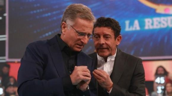 Paolo Bonolis e Luca Laurenti sembrano essere ai ferri corti