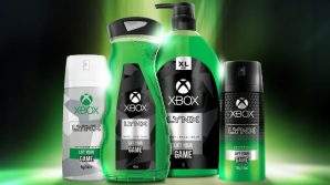 Xbox: in arrivo una linea di deodoranti e una serie di prodotti per il corpo