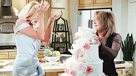 Beautiful, anticipazioni settimanali dal 10 al 14 giugno: Brooke e Taylor litigano al matrimonio di Liam e Hope
