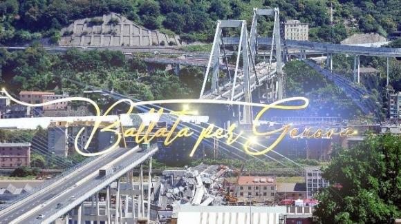"""A un anno dal crollo di ponte Morandi Rai 1 organizza la serata di solidarietà """"Ballata per Genova"""""""